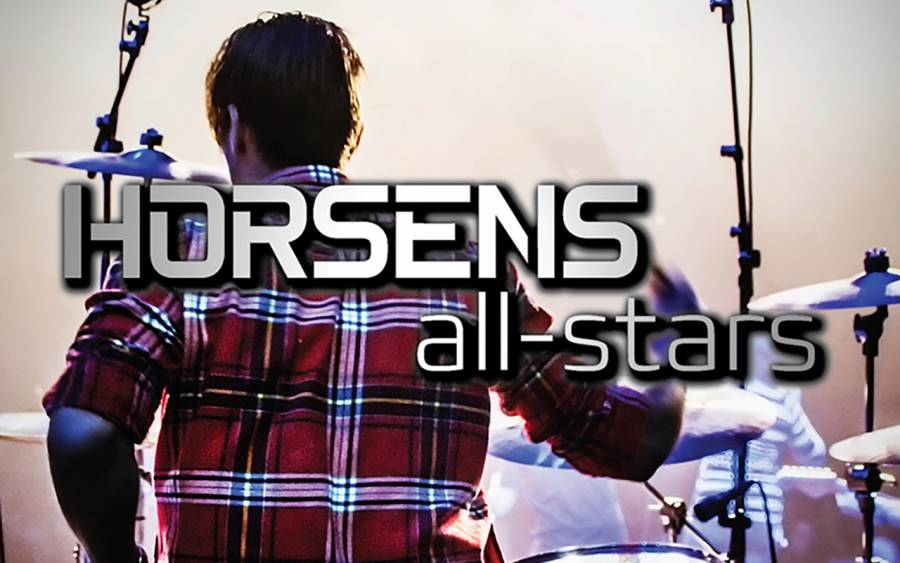 Horsens All Stars by night